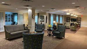 Charter Senior Living Poplar Creek - Community Lobby